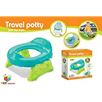 Toys Bhoomi Travel Potty Cum Toilet Trainer For Infants With Seat Liners Potty Seat