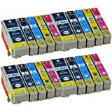 20 Compatible Ink Cartridges for Epson 26XL Expression Premium Printer XP-510 XP-520 XP-600 XP-605 XP-610 XP-615 XP-620 XP-625 XP-700 XP-710 XP-720 XP-800 XP-820