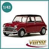 VITESSE ビテス ミニカー 29523 ミニ モーリスクーパー S 1963 タータンレッド 1/43