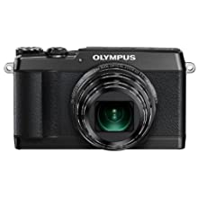 Olympus SH-1 16 MP Digital Camera (Black)