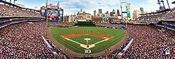 MasterPieces MLB Detroit Tigers Stadium Panoramic Jigsaw Puzzle, 1000-Piece