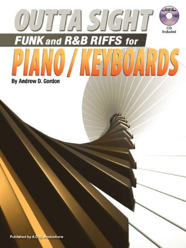 Outta Sight Funk & R & B Riffs for Piano/Keyboards Book/audio CD