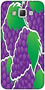 Snoogg Purple Grape Sticker Background Card In Vector Format Designer Protect...