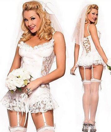 LYEP Sexy Dessous Weiß Kleider Braut Hochzeit Unterwäsche Strumpfbänder T-Hosen Haarschmuck Haar Zubehör