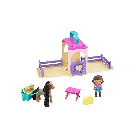 Fisher Price - Ecurie de Dora transportable