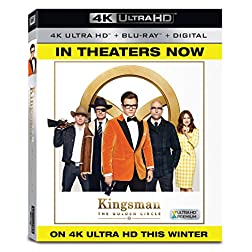 Kingsman 2: The Golden Circle [4K Ultra HD + Blu-ray]