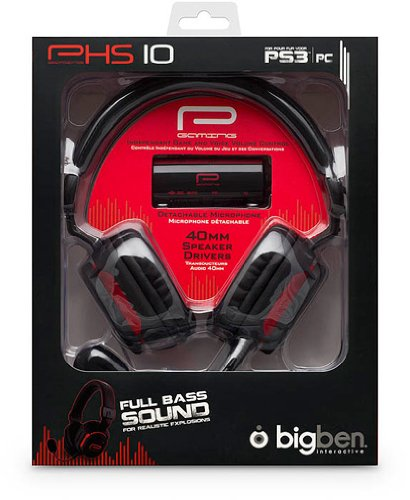 PS3 - Gaming Headset PHS 10 (PS3+PC), PlayStation 3