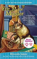Read Humane File M for Murder (Cat in the Stacks Mystery)
