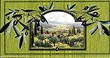 Saponificio Artigianale Fiorentino Soap, Tuscan Olive, 4.4 Ounce Bar, 3 Count
