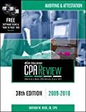 img - for Bisk CPA Review: Auditing & Attestation - 38th Edition 2009-2010 (Comprehensive CPA Exam Review Auditing & Attestation) book / textbook / text book