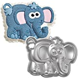 DIY Elephant Shape Aluminum Alloy Baking Mold 27*21*5cm