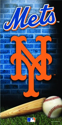New York Mets Exclusive Terry Velour Beach/Bath Towel at Amazon.com