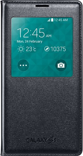 S5 (G900) Samsung S View Cover Ef-Cg90 (Black)