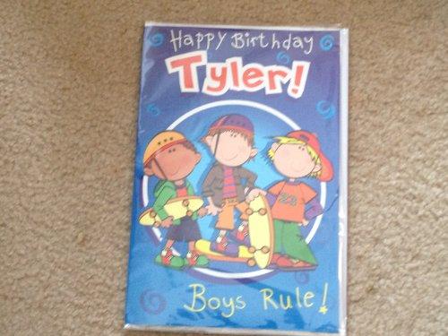 Happy Birthday Tyler - Singing Birthday Card