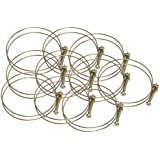 Steelex  Wire Hose Clamp, 2-1/2-Inch, 10-Pack