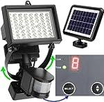MicroSolar - 80 LED - Projecteur mura...