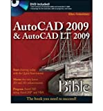 img - for [ AUTOCAD 2009 & AUTOCAD LT 2009 BIBLE [WITH DVD] (BIBLE (WILEY)) ] By Finkelstein, Ellen ( Author) 2008 [ Paperback ] book / textbook / text book