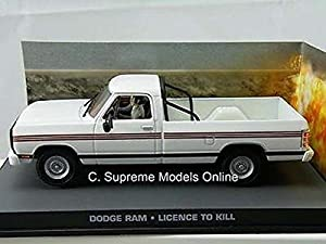 Dodge Ram James Bond Licence To Kill Car 1/43Rd White Colour Example T3412Z