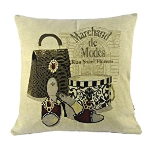 New Fashion Diana Princess Bag Boutique Purse Heel Pillow Case Cushion Cover