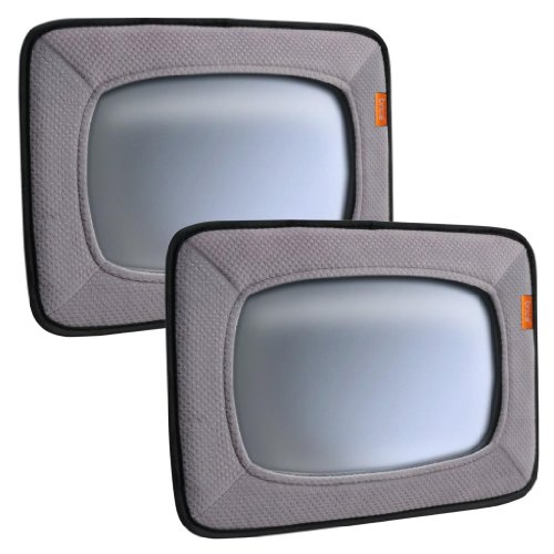 Brica Baby In-Sight Mirror, Gray - 2 Pack front-659906