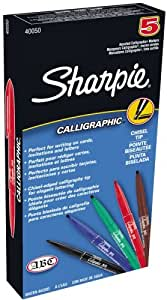Sharpie calligraphic water based marker Sharpie calligraphy pen