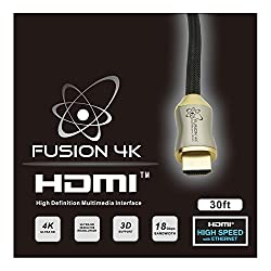 Fusion4K High Speed 4K HDMI cable - Professional Series Ultra HD (3 Feet)