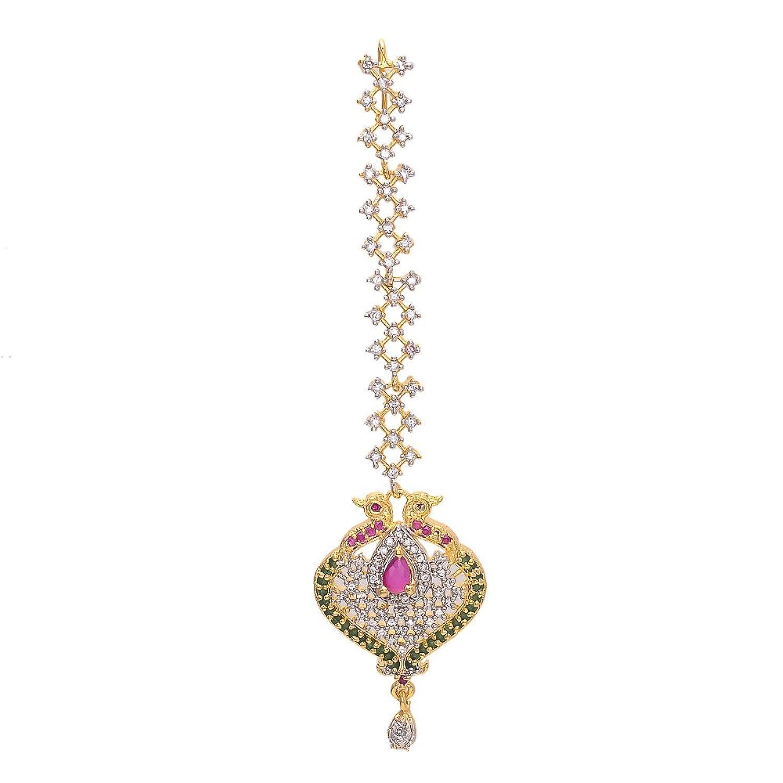 9 Beautiful Diamond Maang Tikka Designs With Images