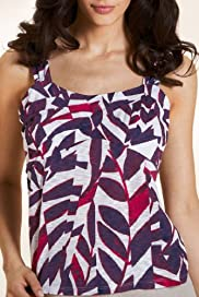 Per Una Palm Print Camisole Top [T62-5773H-S]