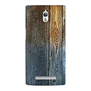 Ajay Enterprises Wall of Wood Back Case Cover for Oppo Find 7