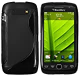 Mumbi TPU Silicone Protective Phone Case for BlackBerry Torch 9860 Black