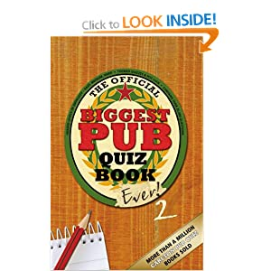 The Biggest Pub Quiz Book Ever! 2