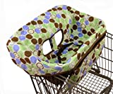 Buggy Bagg Jr Shopping Cart Cover, Dots
