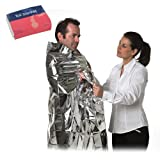 Paediatric Size Emergency Survival Foil Blanket First Aid - Shock Cold Child