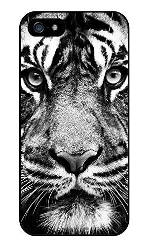 Black And White Tiger Phone Case [Customizable by Buyers] [Create Your Own Phone Case] Slim Fitted Hard Protector Cover for iphone 6 Plus 5.5inch