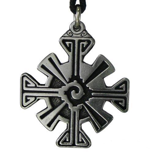 hunab-ku-mayan-pendant-energy-balance-talisman-black-sun-sigil-mexican-jewelry-by-pepi