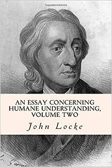 essay concerning human understanding hume