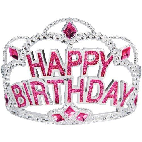 Happy Birthday Plastic Tiara