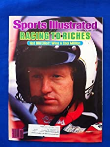 1985 Sports Illustrated September 9 Bill Elliott Excellent to Mint by Sports Illustrated