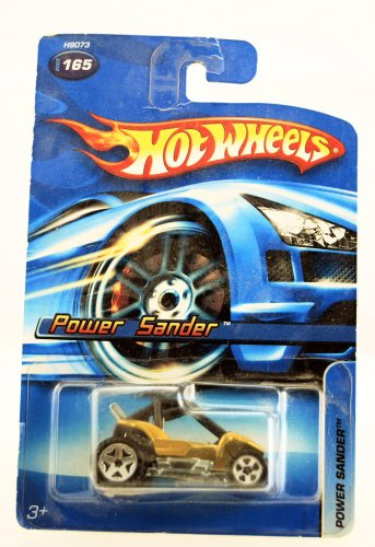 2005 Hot Wheels Power Sander ATV #165 - Gold color
