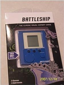 Handheld Electronic Battleship Game