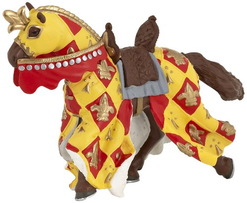 Red Medieval Horse