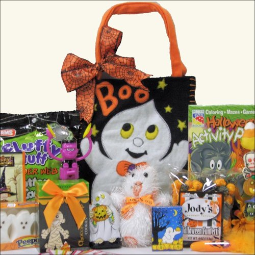 Spooky Sweets & Treats: Halloween Gift Basket