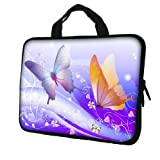 15.6 Laptop Sleeve Neoprene Case Bag with Hidden Handle handbag for 14 15 15.6 14 15 Notebook