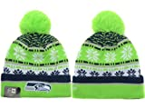 Seattle Seahawks Knit Winter Hats 080 at Amazon.com