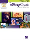 Hal Leonard Disney Greats for Trumpet Instrumental Play Along Pack Book and CD
