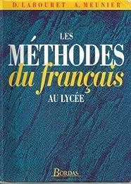 Les  méthodes du français au lycée