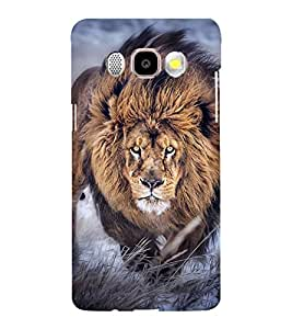 LION A POWERFULL CREATION OF NATURE 3D Hard Polycarbonate Designer Back Case Cover for Samsung Galaxy J7 (2016) :: Samsung Galaxy J710F :: Samsung Galaxy J7 (2016) Duos with dual-SIM card slots