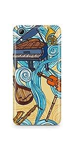 Casenation Music Illustration HTC 826 Matte Case