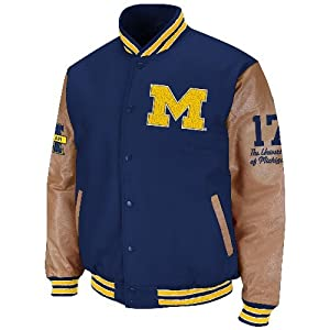 Michigan Wolverines NCAA Varsity 2013 Letterman Jacket by Colosseum