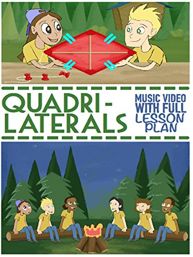 Quadrilaterals Song and Music Video For Kids: Rectangular 2D SHAPES